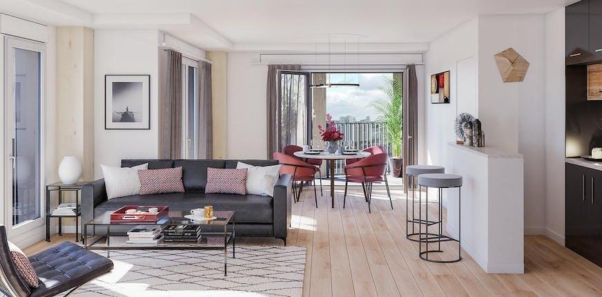 Appartement neuf à Paris 13 pour votre investissement immobilier en Île-de-France