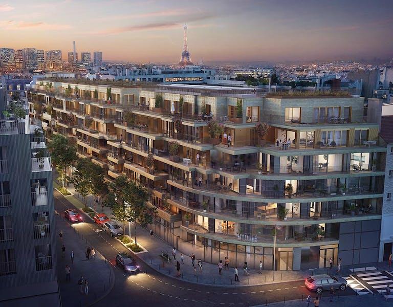 Le programme immobilier neuf à Paris 15 Ateliers Vaugirard