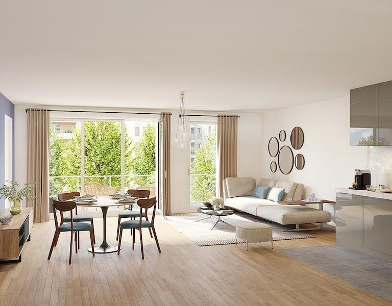 6 Rue Paul Héroult à Rueil-Malmaison : appartement