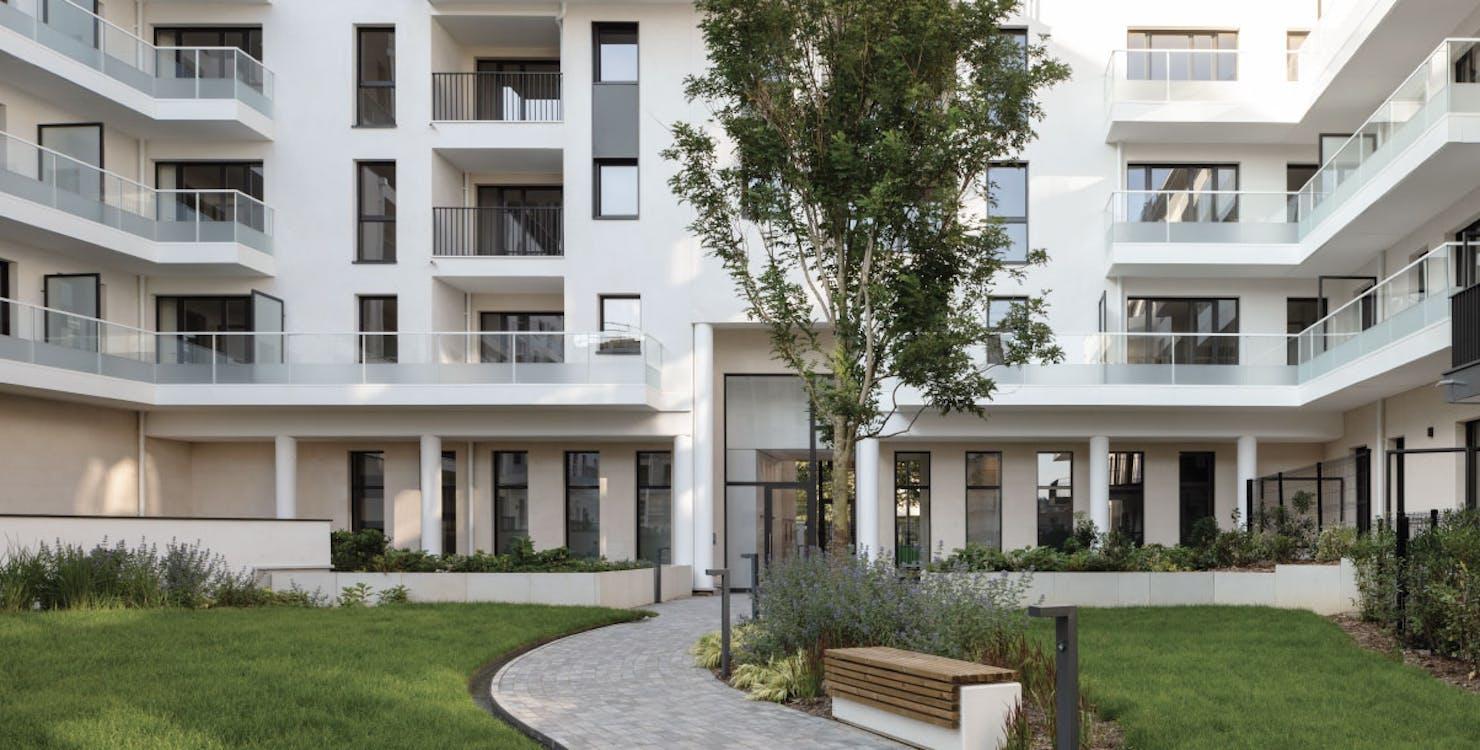 """Jardin du programme immobilier neuf """"rue des bons raisins"""" à Rueil-Malmaison"""