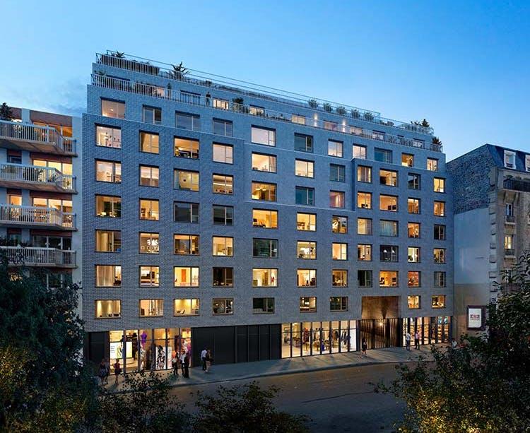 Rue Petit à Paris 19 : résidence de nuit MEDIAS MOBILE