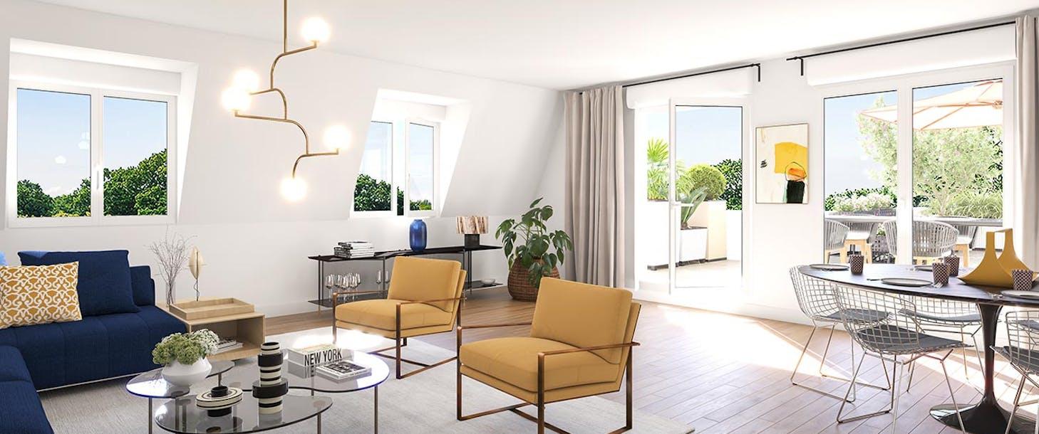Appartement du programme immobilier neuf Place du Garde à Clamart