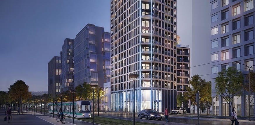Programme immobilier neuf Le Berlier à Paris 13, près de la ligne 14 du métro