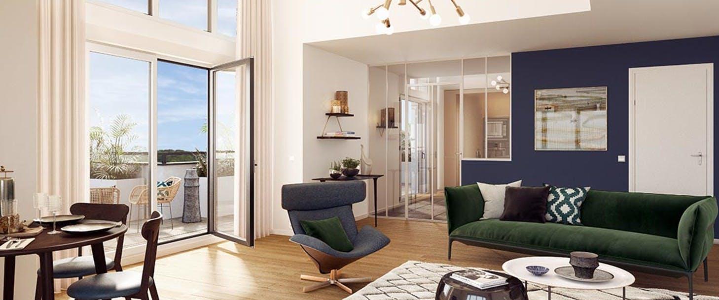 Appartement du programme immobilier neuf 60 Avenue Didier à Saint-Maur