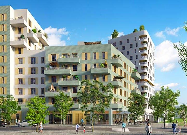"""Nouveau programme immobilier neuf """"Rue Vladimir Kramnik"""" à Asnières-sur-Seine"""