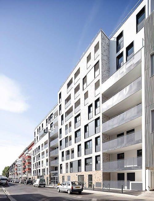 Façade du programme immobilier neuf 31-33 Avenue Gabriel Péri à Bezons