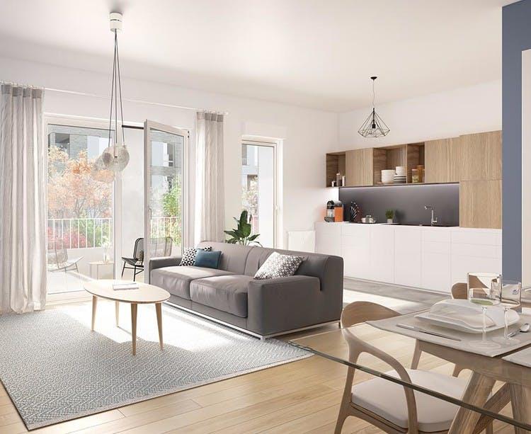 Appartement du programme immobilier neuf Allée du Colonel Fabien à Nanterre