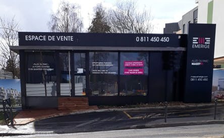 Espace de vente Emerige à Massy