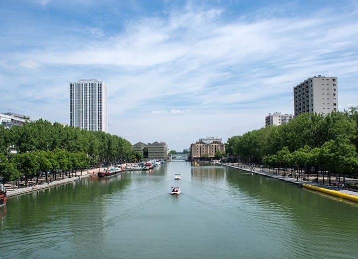 Paris 19 : le Bassin de la Villette MEDIAS MOBILE