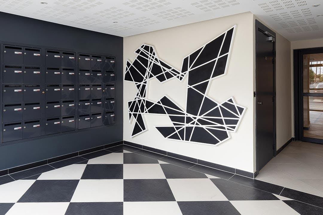 1 immeuble, 1 oeuvre au sein du programme immobilier neuf 31-33 Avenue Gabriel Péri à Bezons