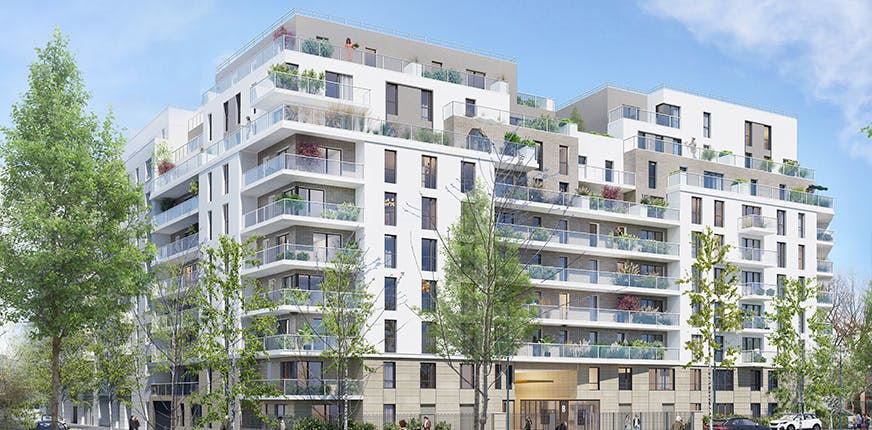 Appartement neuf du programme immobilier Rueil-Malmaison- Rue Paul Heroult