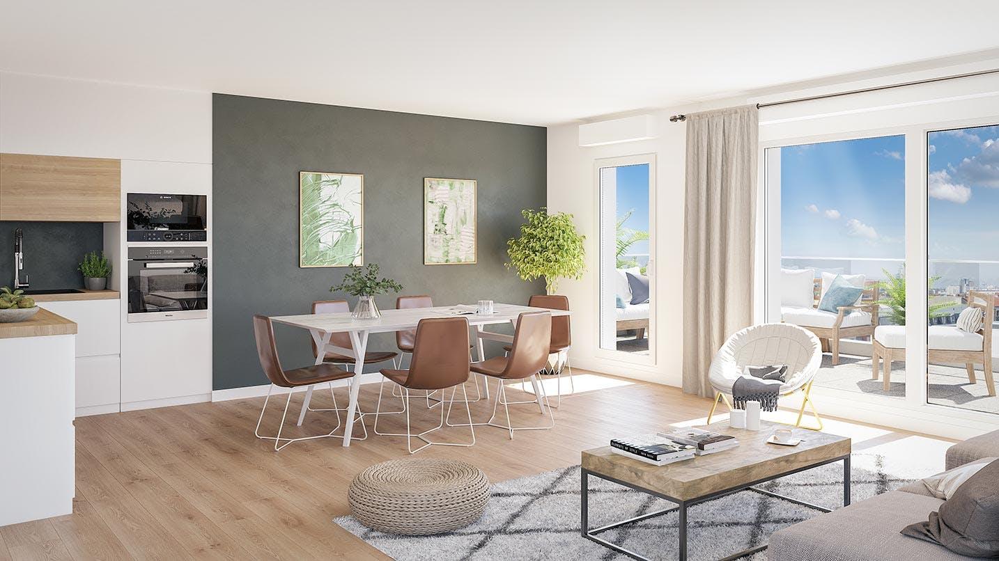 Appartement neuf du programme immobilier 164 Gabriel Péri à à Rosny-sous-Bois