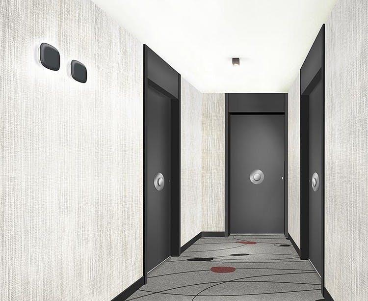 Palier d'étage du programme immobilier neuf 1 Marcel Sembat à Saint-Denis