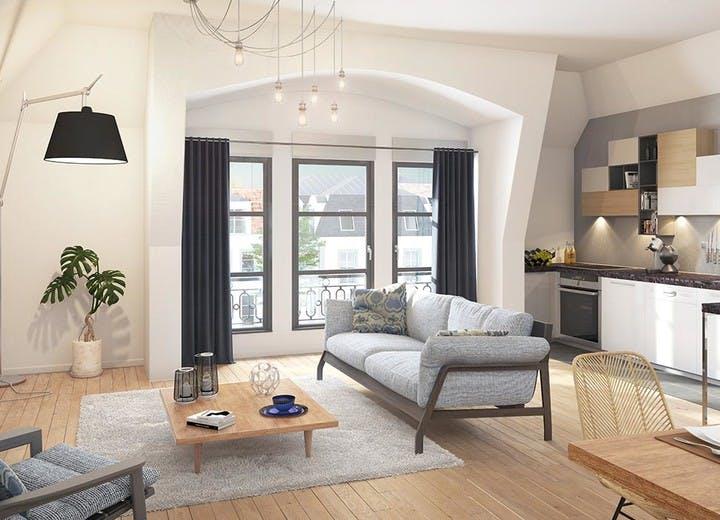 Allée de Meudon à Clamart : appartement