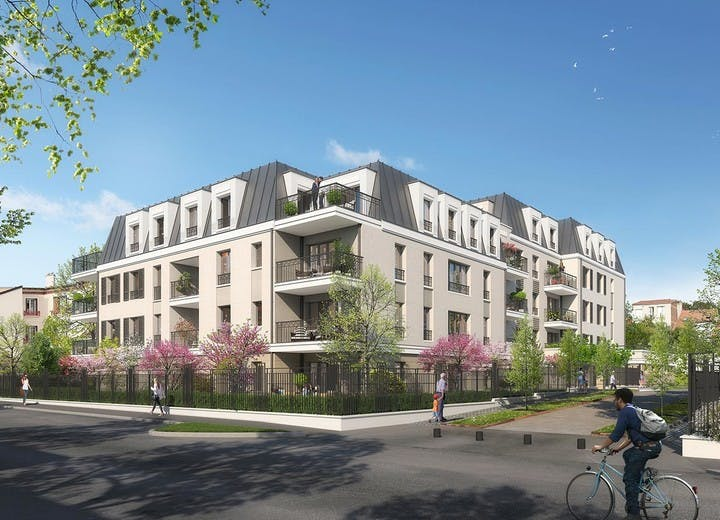 Architecture du programme immobilier neuf 31 rue Fernand Forest à Suresnes