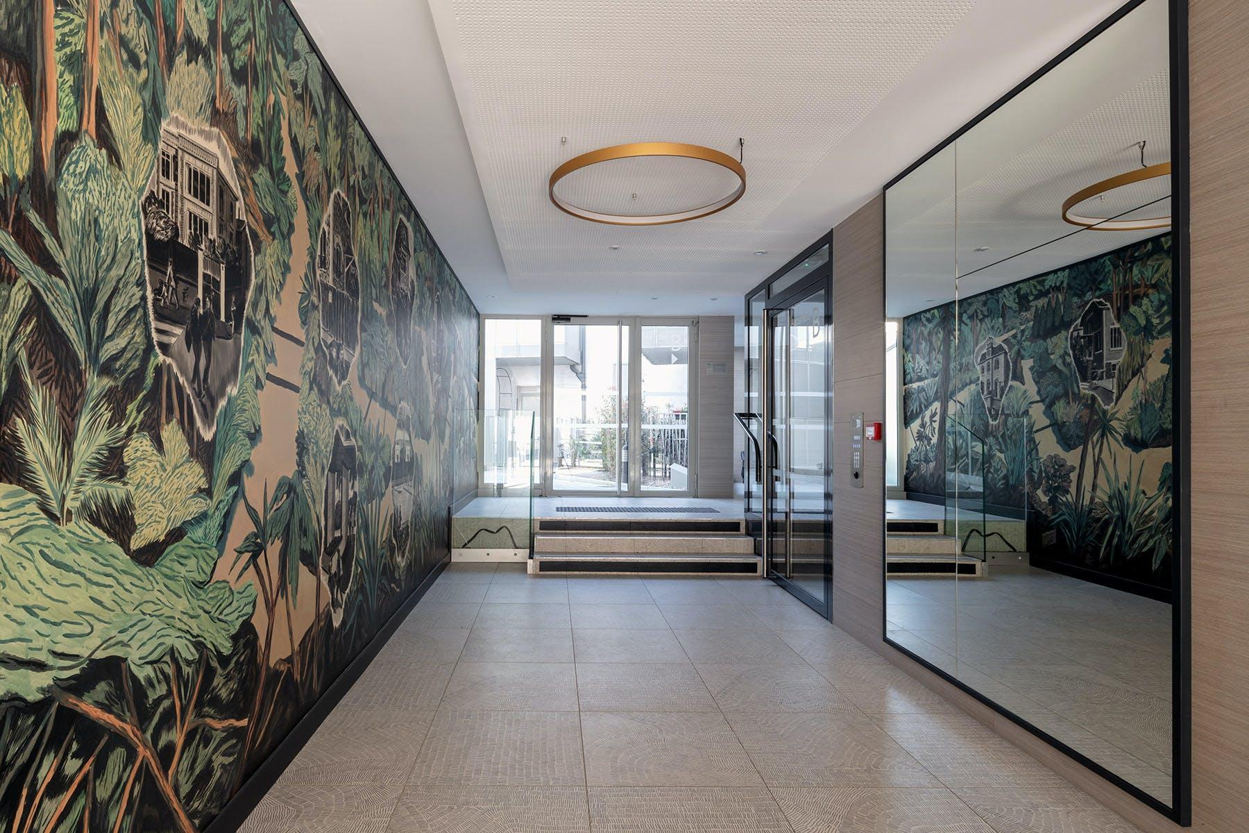 1 immeuble, 1 oeuvre au sein du programme neuf 20 rue Jean Jaures à Gentilly