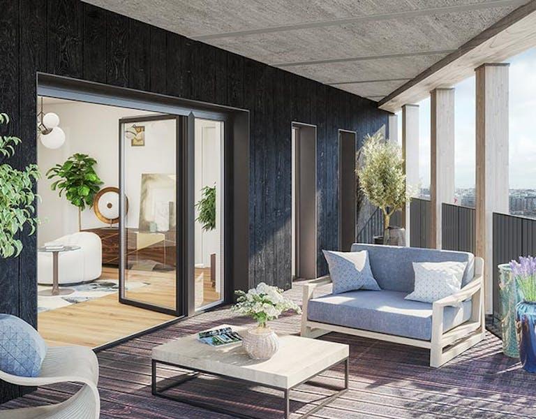 Programme immobilier neuf à Paris 13 Le Berlier