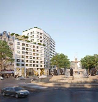 Place Félix Eboué à Paris 12