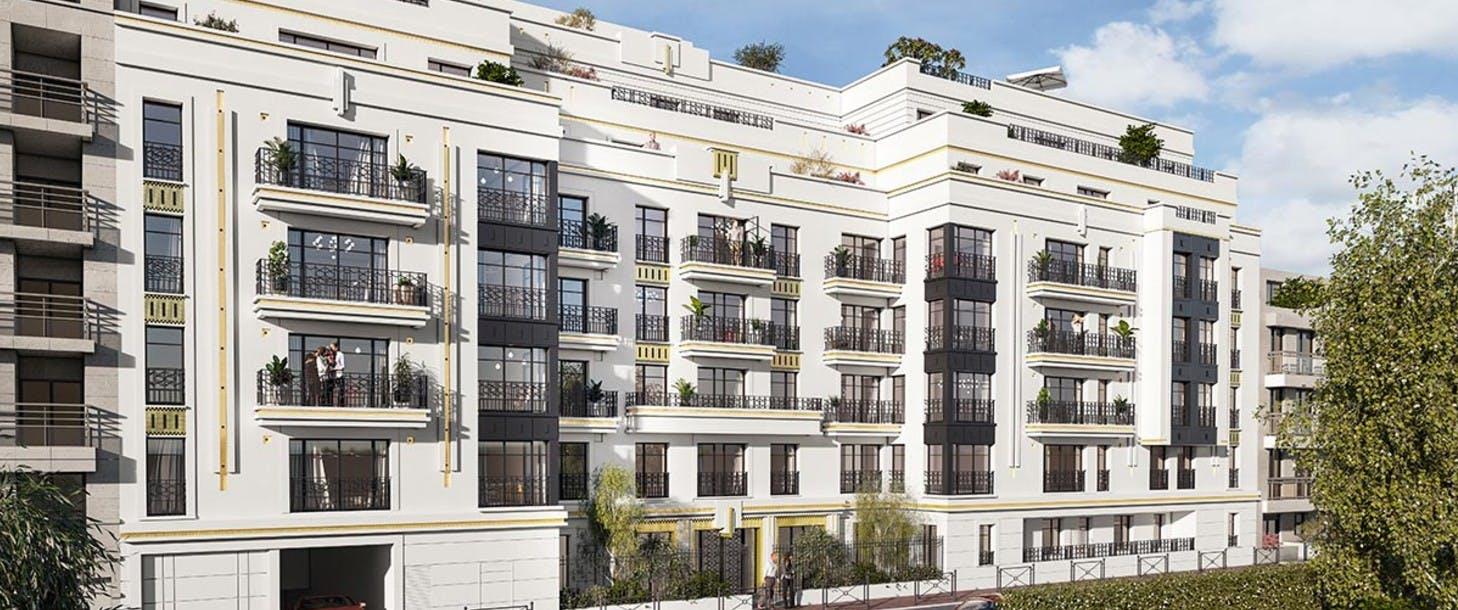 Programme immobilier neuf 120 Danton à Levallois