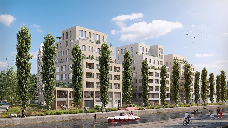 Programme immobilier neuf Paris Canal - 165 Rue de Paris à Bobigny