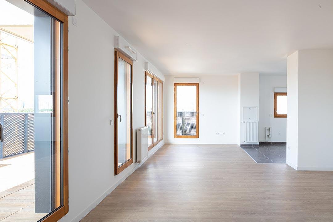 Appartement livré du programme immobilier neuf Les Allées Maria Casarès à Gennevilliers