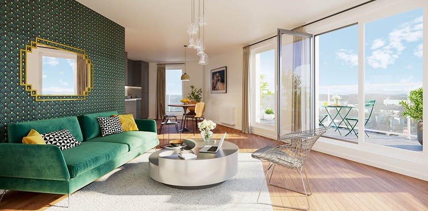 """Appartement neuf du programme immobilier à Rueil-Malmaison """"6 Rue Paul Héroult"""""""