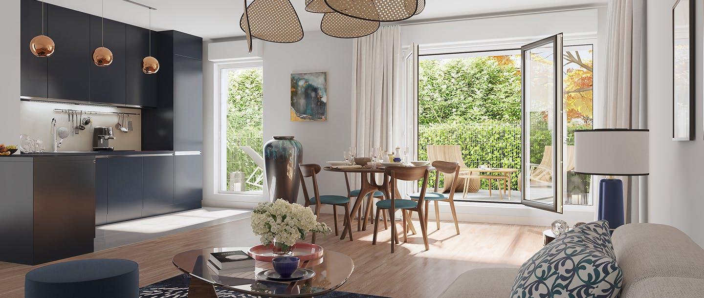 Nouveau programme immobilier neuf quartier Paul Hochart à L'Haÿ-les-Roses