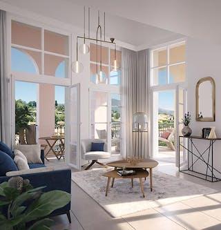 Appartement duplex du programme immobilier neuf au Rouret d'Emerige