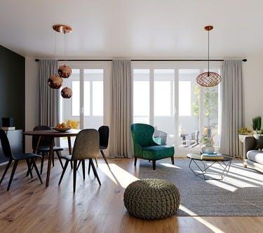 1 Marcel Sembat à Saint-Denis : appartement
