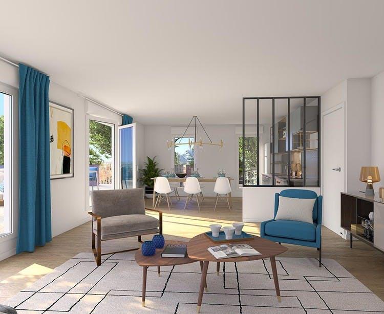 Rue Edouard Renard à Pantin : appartement