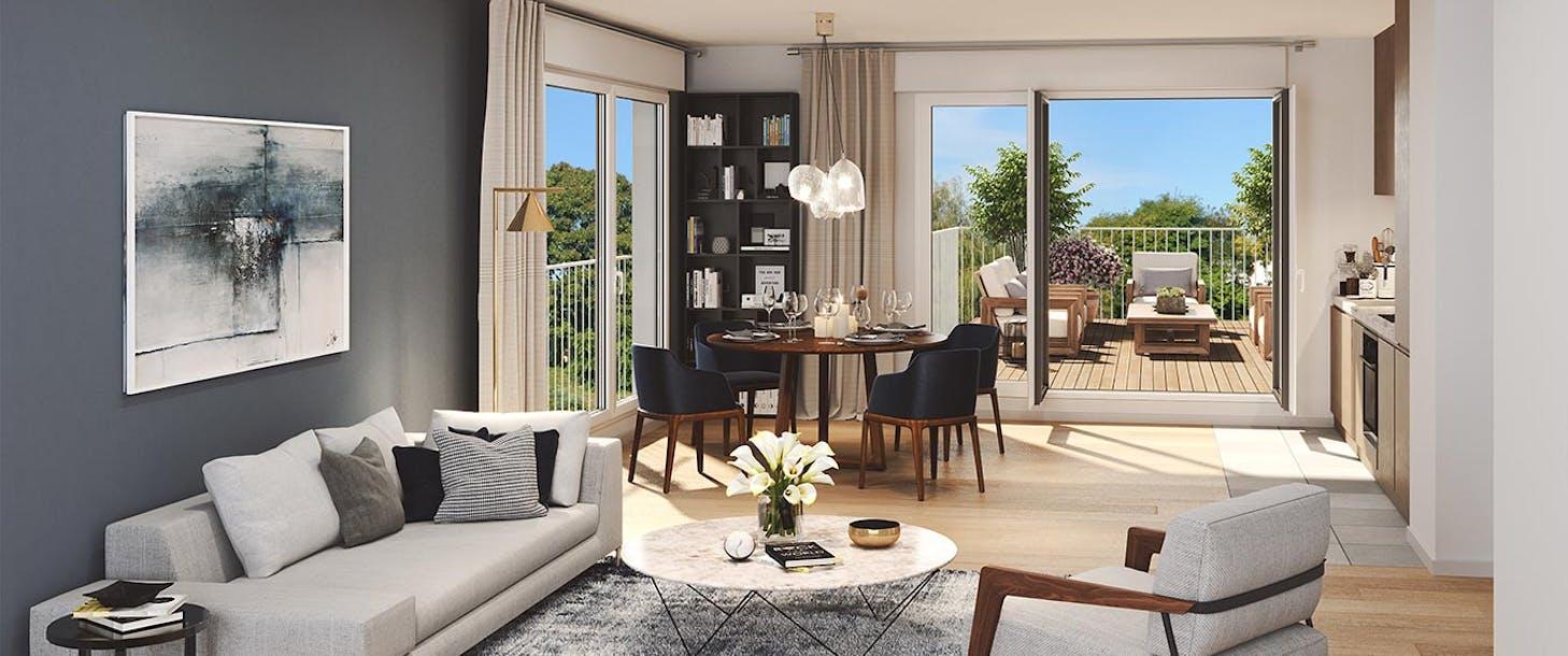 Appartement neuf du programme immobilier Allée du Parc à Massy
