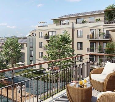 1 rue Roussel à Saint-Maur : balcon