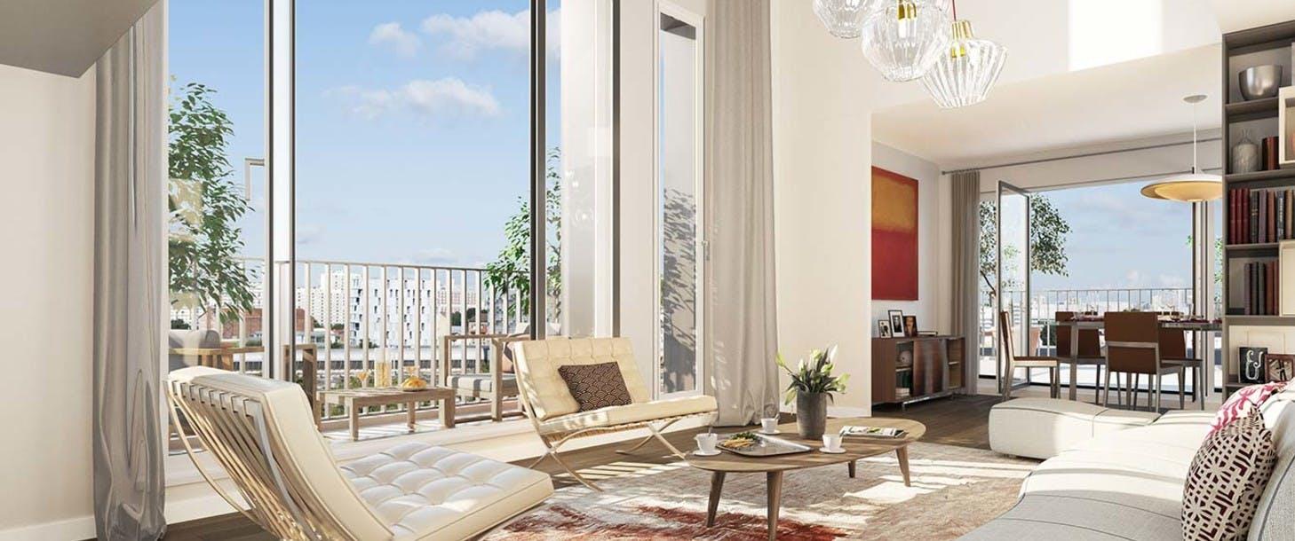Rue des Bons Raisins à Rueil-Malmaison : appartement