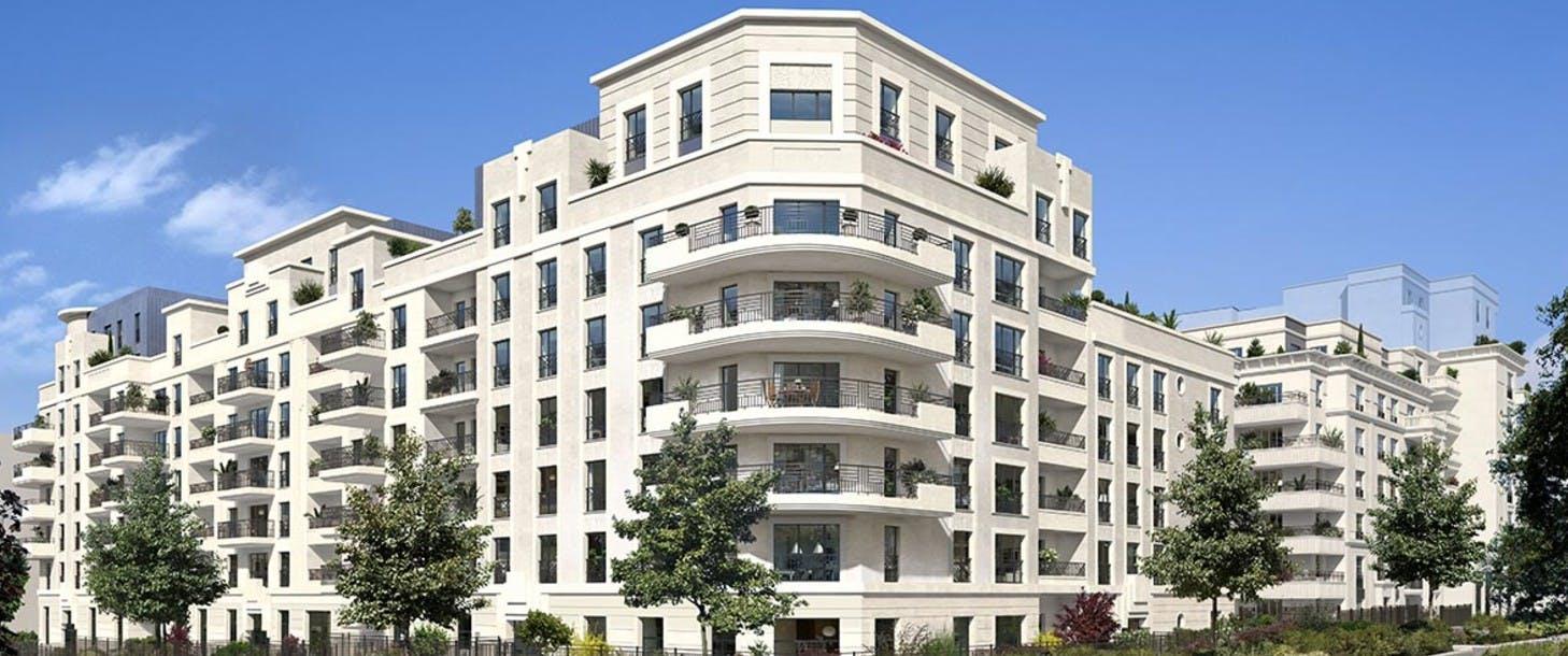 """Bâtiment B du programme immobilier à Saint-Ouen """"Rue Pablo Picasso"""""""