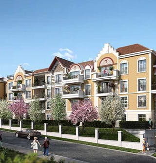 """Programme immobilier neuf à Châtenay-Malabry """"Route du Plessis Piquet"""""""