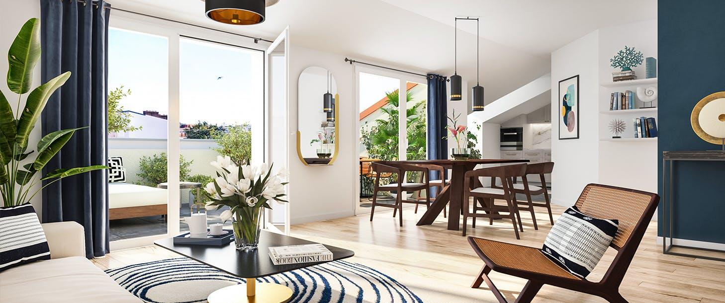 Salon du programme immobilier neuf à Nice