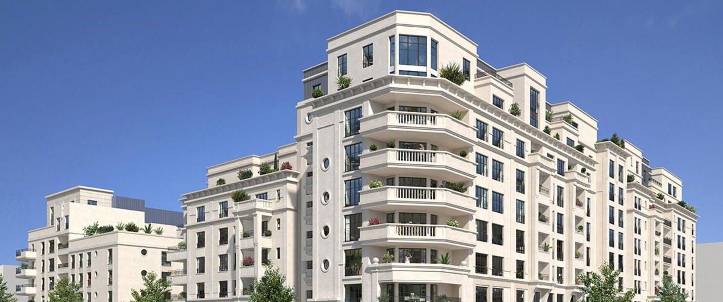Bâtiment D du programme immobilier Rue Pablo Picasso à Saint-Ouen
