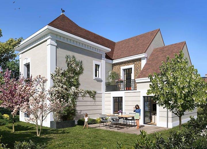 Maison neuve en VEFA du programme immobilier Place du Garde à Clamart