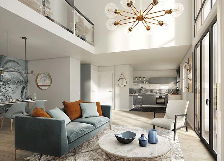Appartement duplex du programme immobilier à Châtenay-Malabry Route du Plessis Piquet