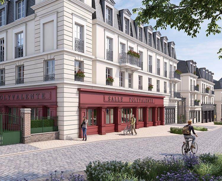 Quartier du programme immobilier neuf Quartier de la Roseraie à L'Haÿ-les-Roses