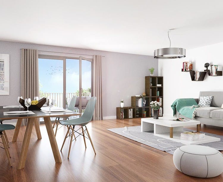 Terrasses d'Aragon à Villejuif : appartement