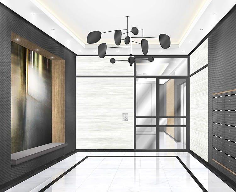 Hall d'entrée du programme immobilier neuf 1 Marcel Sembat à Saint-Denis