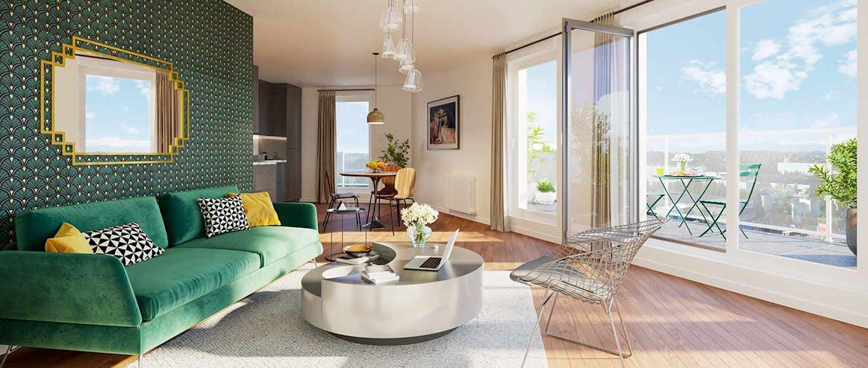 """Le programme immobilier neuf à Rueil-Malmaison """"6 Rue Paul Héroult"""""""