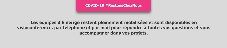 COVID 19 : message confinement desktop mars 2021