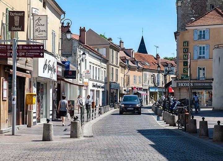 Centre-ville de Nanterre dans les Hauts-de-Seine (92)