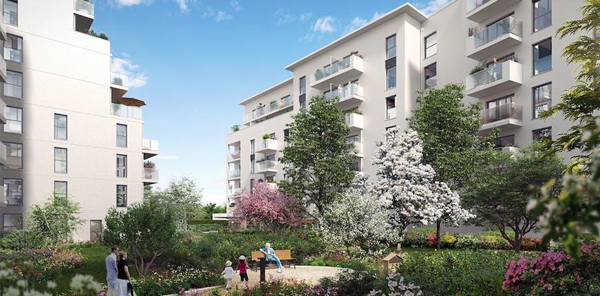 """Programme immobilier neuf à L'Haÿ-les-Roses """"Saison 1 - Quartier Paul Hochart"""""""