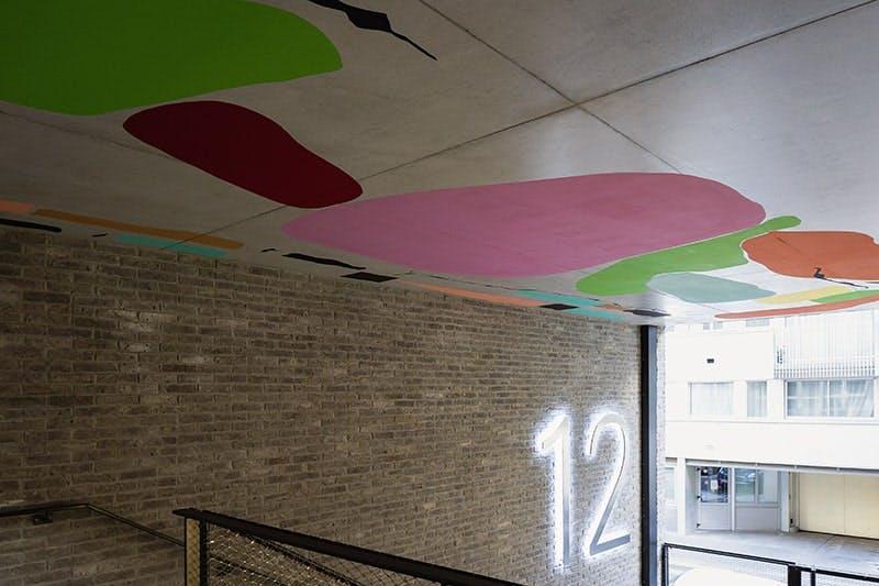 12 Popincourt à Paris 11 : 1 immeuble 1 oeuvre
