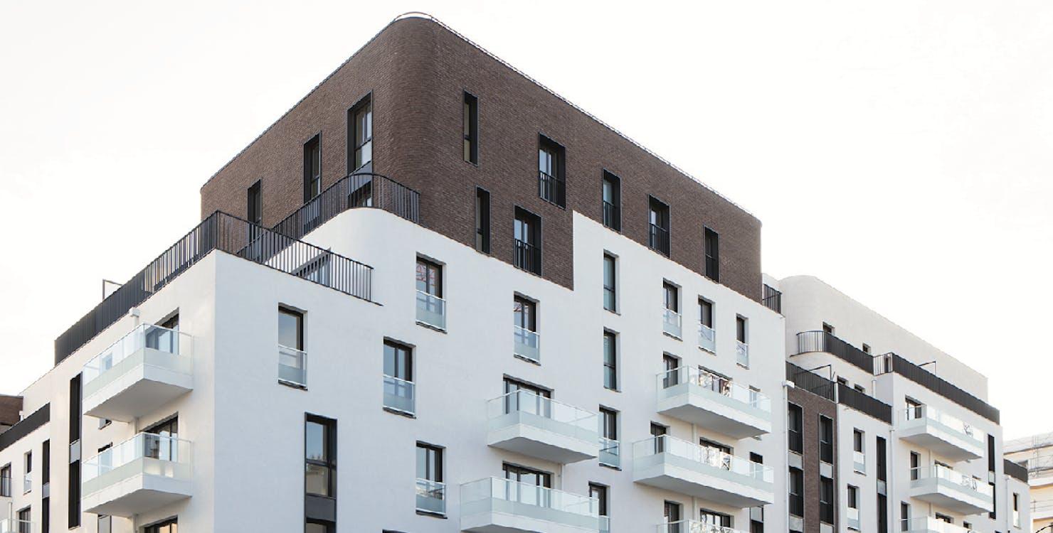 "Facade du programme immobilier neuf ""rue des Bons Raisins"" à Rueil-Malmaison"