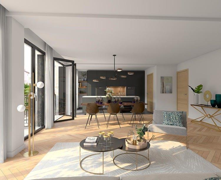 Appartement de Rue Agrippa d'Aubigné  à Paris 4 (Morland)