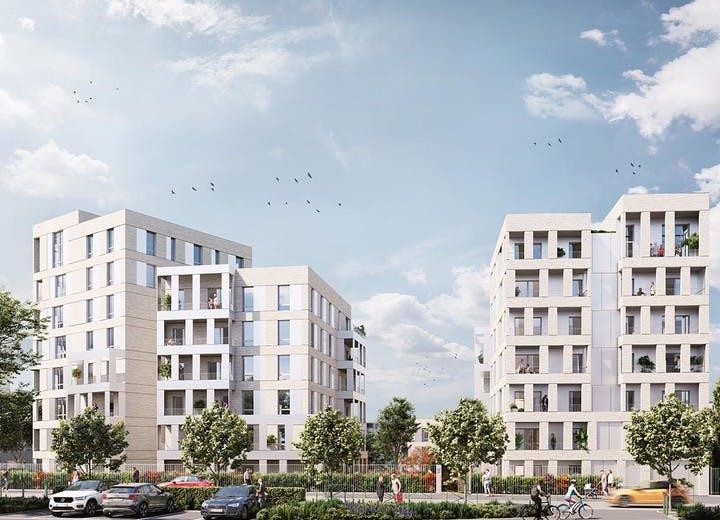Le programme immobilier neuf Allée du Colonel Fabien à Nanterre
